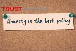 صداقت بهترین سیاست است