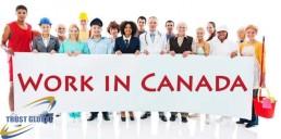 دریافت اقامت کانادا با کار در کانادا