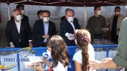 توزیع عاشوره در استانبول بنا به وصیت معمار سنان