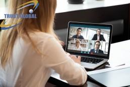 جلسه کاری آنلاین