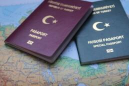 پاسپورت مهاجران ترکیه