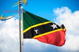 پرچم سنت کویس و نویس